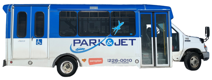 Accessible Parking Shuttle Bus Available at Park and Jet Calgary at YYC Airport