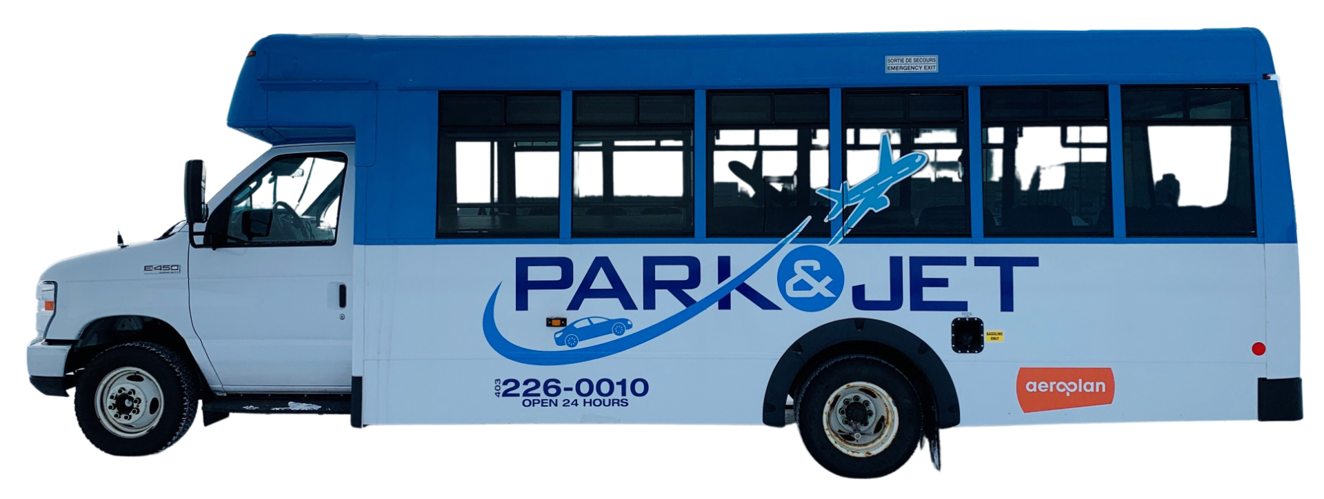 Park & Jet Calgary - Parking Shuttle Bus for YYC Airport